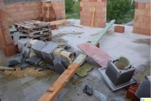 stavba komínu bez výztuže